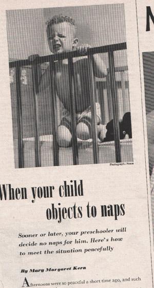 Demon-spawn don't take no naps! Aeeiiiieee!