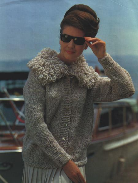 Groovy sweater.