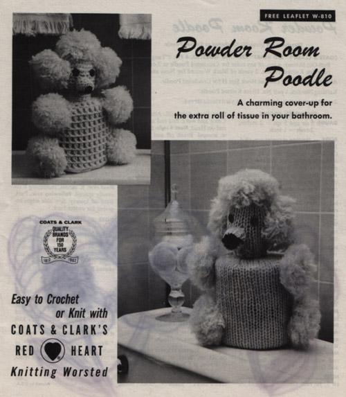 Powder Room Poodle